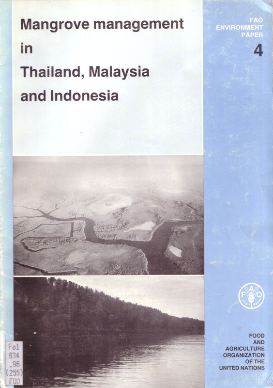 Mangrove management in Thailand, Malaysia and Indonesia